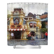 Five And Dime Disneyland Toontown Photo Art 02 Shower Curtain