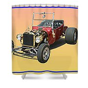 Five Bad Big Boys Rides Shower Curtain