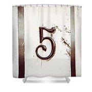 Five Shower Curtain