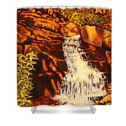 Five Mile Mountain Shower Curtain