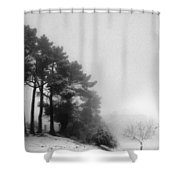 Five Trees Shower Curtain