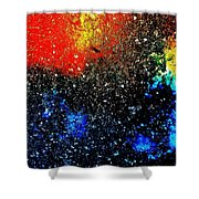 Fizz Two Shower Curtain