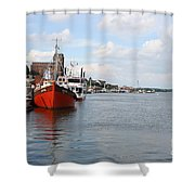 Fjord Schlei - Kappeln Shower Curtain