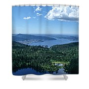 Fjord View Shower Curtain