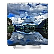 Fjords Of Norway Shower Curtain