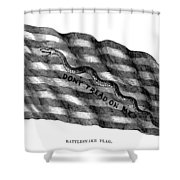 Flag: Dont Tread On Me Shower Curtain