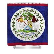 Flag Of Belize Shower Curtain
