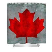 Flag Of Canada Shower Curtain