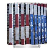 Flag Of Deported Vets Shower Curtain