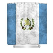 Flag Of Guatamala Shower Curtain