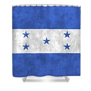 Flag Of Honduras Shower Curtain