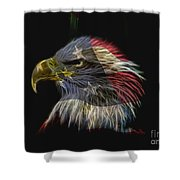 Flag Of Honor Shower Curtain