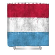 Flag Of Luxembourg Shower Curtain