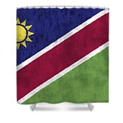 Flag Of Namibia Shower Curtain