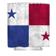 Flag Of Panama Shower Curtain
