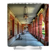 Flagler College Shower Curtain