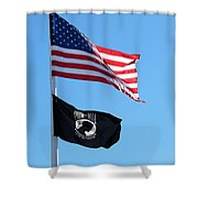 Flags Shower Curtain
