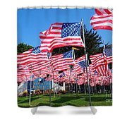Flags Of Glory Shower Curtain