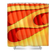 Flame Me Shower Curtain