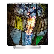 Flame On Shower Curtain