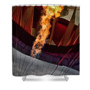 Flame On Two Shower Curtain