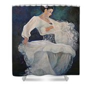 Flamenco 2 Shower Curtain