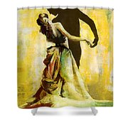Flamenco Dancer 031 Shower Curtain