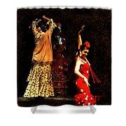 Flamenco Series #6 Shower Curtain