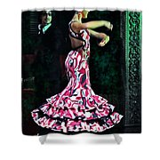 Flamenco Series No. 10 Shower Curtain