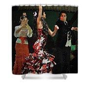 Flamenco Series No 13 Shower Curtain