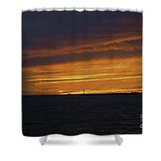 Flameout Shower Curtain