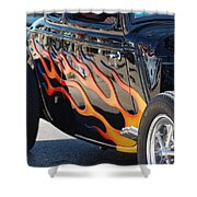 Flaming Classic Shower Curtain