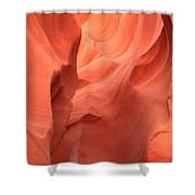 Flaming Face Shower Curtain