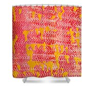 Flaming Fire Shower Curtain