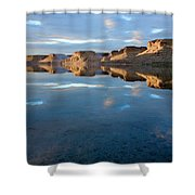 Flaming Gorge Shower Curtain