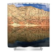 Flaming  Gorge Reflections Shower Curtain