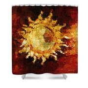 Flaming Out Shower Curtain