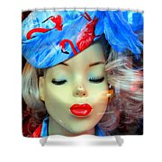 Flamingo Couture Shower Curtain
