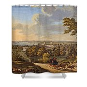 Flamstead Hill, Greenwich The Shower Curtain