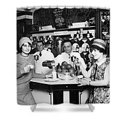 Flappers, 1928 Shower Curtain