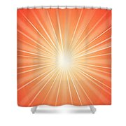 Flash - 1 Shower Curtain