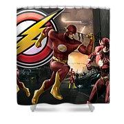 Flash Shower Curtain