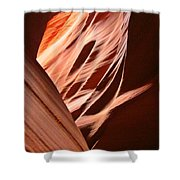 Flash Flood Art Shower Curtain
