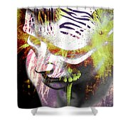 Flashy Frank  Shower Curtain