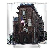 Flat Iron Annapolis - Maryland Inn Shower Curtain