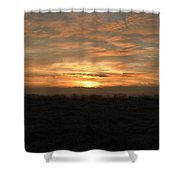 Flat Line Shower Curtain