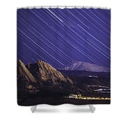 Flat Lined Shower Curtain