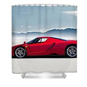 Flat Out  Shower Curtain