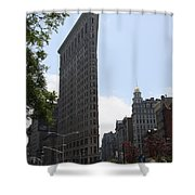 Flatiron Building - Manhattan Shower Curtain