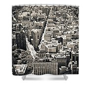 Flatiron Building - New York City Shower Curtain